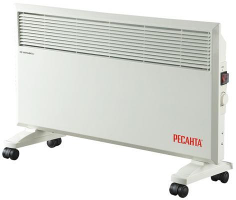 Конвектор Ресанта ОК-1700 1700 Вт колеса для перемещения белый конвектор ок 1700 ресанта