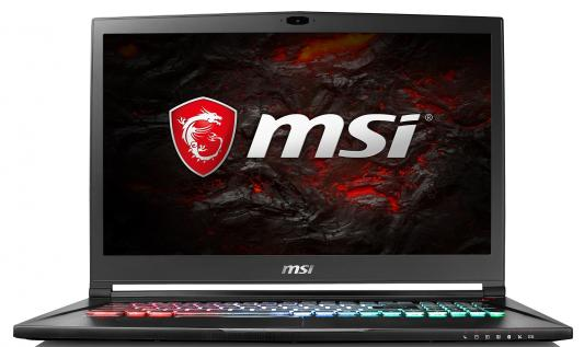 Ноутбук MSI GS73 7RE-028RU Stealth Pro 17.3 1920x1080 Intel Core i7-7700HQ ноутбук msi gs43vr 7re 201ru phantom pro 14 1920x1080 intel core i7 7700hq 9s7 14a332 201