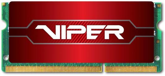 Оперативная память для ноутбуков SO-DDR4 8Gb PC22400 2800MHz Patriot PV48G280C8S