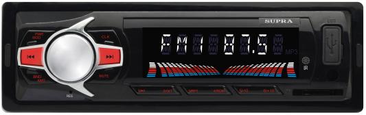 Автомагнитола Supra SFD-47U USB MP3 FM 1DIN 4x40Вт черный