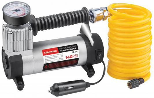 Автомобильный компрессор Starwind CC-280 автомобильный компрессор урал ас 580