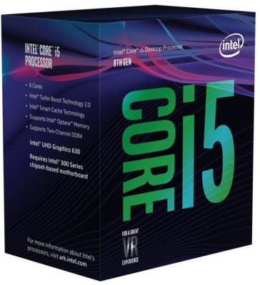 Процессор Intel Core i5-8400 2.8GHz 9Mb Socket 1151 v2 BOX процессор intel core i5 8400 oem