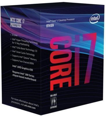 Процессор Intel Core i7-8700 3.2GHz 12Mb Socket 1151 v2 BOX