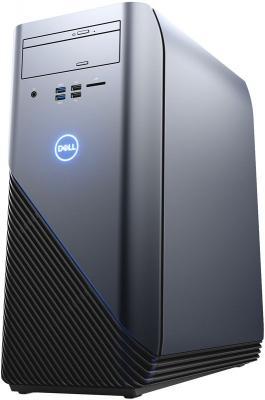 Системный блок DELL Inspiron 5675 Ryzen 5 1400 3.2GHz 8Gb 1Tb 256Gb SSD RX 580-8Gb DVD-RW Win10 клавиатура мышь черный 5675-4780