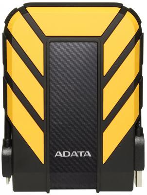 Внешний жесткий диск 2.5 USB3.1 2Tb Adata HD710P AHD710P-2TU31-CYL желтый внешний жесткий диск adata ahd710p 1tu31 cyl