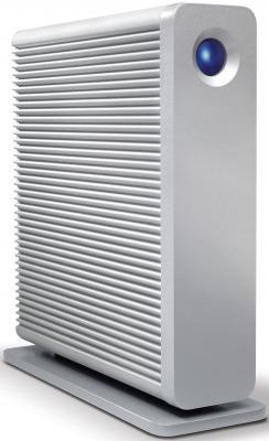 Внешний жесткий диск 3.5 USB3.0 6Tb Lacie D2 Quadra STGJ6000400 серебристый внешний hdd lacie 2big quadra 12tb stgl12000400