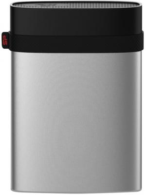 Внешний жесткий диск 2.5 USB3.0 500 Gb Silicon Power A85 Armor SP500GBPHDA85S3S серебристый внешний жесткий диск silicon power armor a85 3тб серебристый [sp030tbphda85s3s]