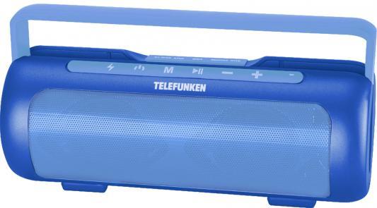 Магнитола Telefunken TF-PS1231B синий цена и фото