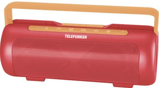 Магнитола Telefunken TF-PS1231B красный/оранжевый цена