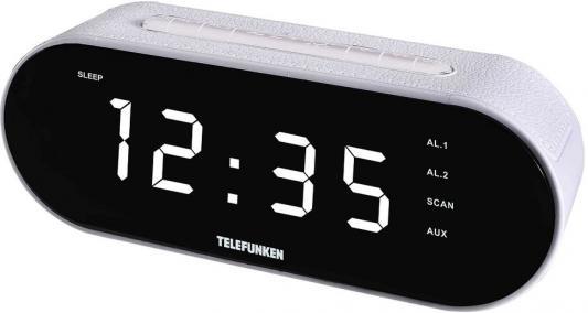 Часы с радиоприёмником Telefunken TF-1573 белый