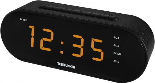 Часы с радиоприёмником Telefunken TF-1573 чёрный