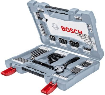 Набор бит Bosch Premium 91шт 2608P00235 bosch v line 91 2607017195