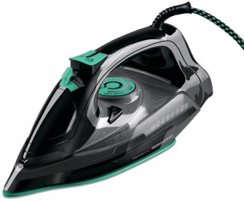 Утюг Redmond RI-C252 2200Вт чёрный зелёный утюг redmond ri d235 2200вт белый голубой [ri d235 голубой ]