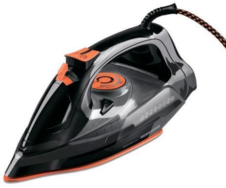 Утюг Redmond RI-C252 2200Вт чёрный оранжевый цены