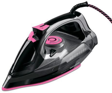 Утюг Redmond RI-C252 2200Вт чёрный розовый утг redmond ri c244 розовый