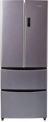 Холодильник Candy CCMN 7182 IXS серебристый холодильник candy ccpf 6180sru