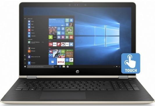 Ноутбук HP Pavilion x360 15-br012ur 15.6 1920x1080 Intel Core i3-7100U 1ZA57EA
