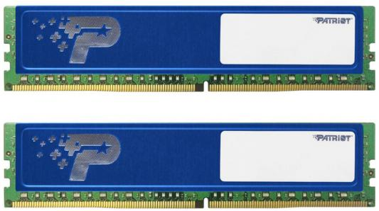 Оперативная память 8Gb (2x4Gb) PC4-17000 2133MHz DDR4 DIMM CL15 Patriot PSD48G2133KH цена и фото