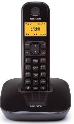 Радиотелефон DECT Texet TX-D6705A черный телефон проводной texet tx 201 белый