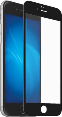 Защитное стекло DF iColor-12, черная рамка для iPhone 7 Plus iPhone 8 Plus 0.33 мм цена