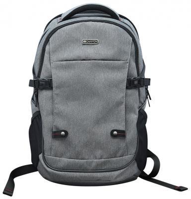 Рюкзак для ноутбука 15.6 Canyon CNE-CBP5G8 нейлон темно-серый внешний аккумулятор canyon cne cspb26go 2600мач золотистый