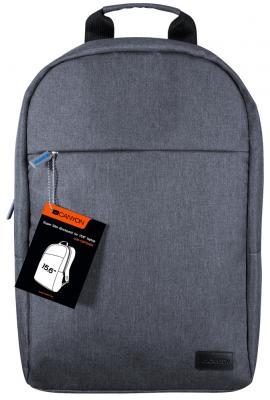 "Рюкзак для ноутбука 15.6"" Canyon CNE-CBP5DB4 полиэстер серый"