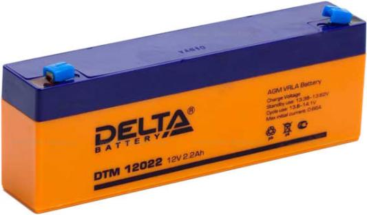 Батарея Delta DTM 12022 2.2Ач 12B new original dvp48eh00r3 delta plc eh3 series 100 240vac 24di 16do relay output
