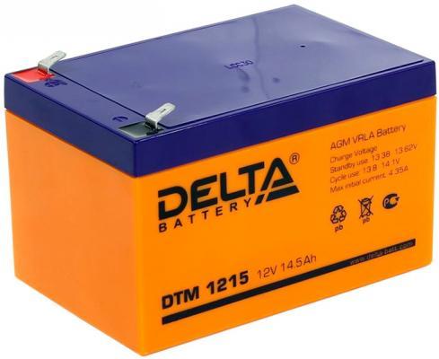 Батарея Delta DTM 1215 14.5Ач 12B  цена и фото