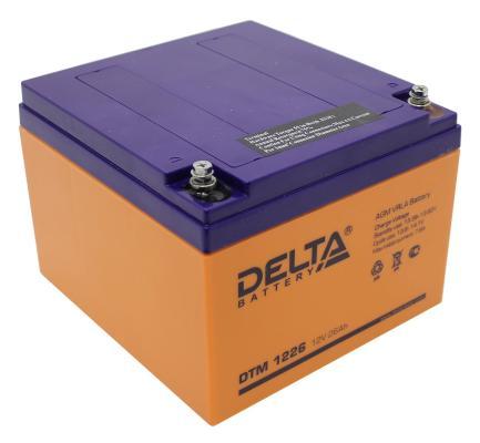 Батарея Delta DTM 1226 26Ач 12B  цена и фото