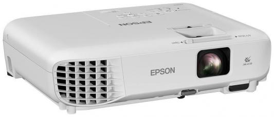 Проектор Epson EB-W05 1280x800 3300 люмен 15000:1 белый проектор epson eb s6 пульт