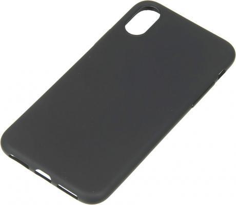 """Накладка Deppa """"Anycase"""" для iPhone X чёрный 140048"""