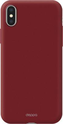 Накладка Deppa Air Case для iPhone X красный 83324 цена и фото