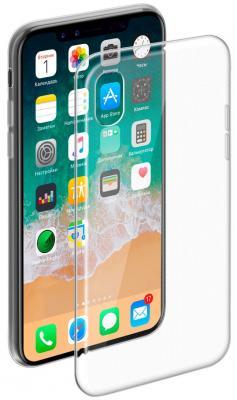 Чехол Deppa Gel Case для iPhone X прозрачный 85335 mesh style protective back case for htc one x s720e deep pink