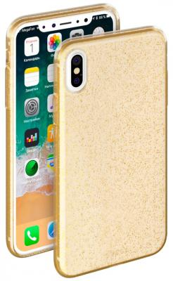 "Накладка Deppa ""Chic Case"" для iPhone X золотой 85340"