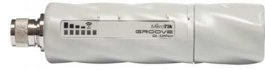 Точка доступа MikroTik GrooveA 52 ac 802.11abgnac 5 ГГц 2.4 ГГц 1xLAN белый RBGrooveGA-52HPacn