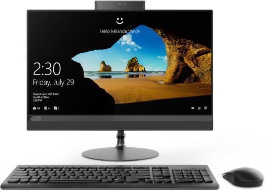 """Моноблок 21.5"""" Lenovo IdeaCentre 520-22IKU 1920 x 1080 Intel Pentium-4415U 4Gb 1Tb Radeon 530 2048 Мб Windows 10 Home черный F0D5000LRK"""