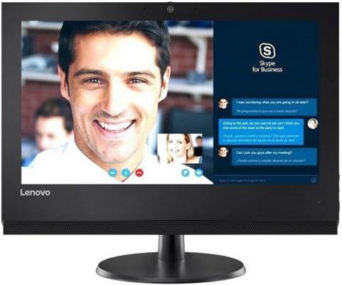 "Моноблок 19.5"" Lenovo V310z 1600 x 900 Intel Core i3-7100 4Gb 1Tb Intel HD Graphics 630 DOS черный 10QG001URU"