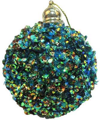 Набор шаров Новогодняя сказка 972915 голубой 6 см 6 шт пластик