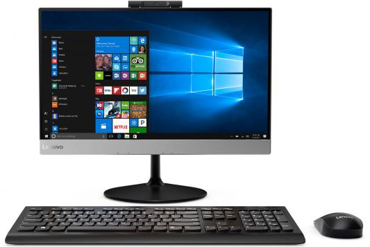 Lenovo V410z All-In-One 21,5 i3-7100T 4Gb 128GB SSD Intel HD DVD±RW AC+BT USB KB&Mouse Win 10Pro 1Y carry-in usb flash накопитель 128gb kingston hyperx hxs3 128gb usb3 1 черный