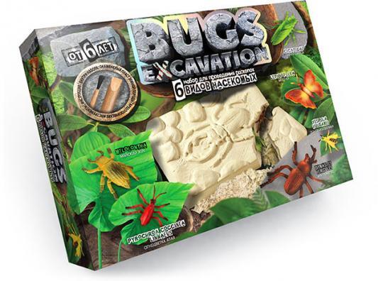 Набор для проведения раскопок ДАНКО-ТОЙС Bugs Excavation - Насекомые (жуки  пауки)