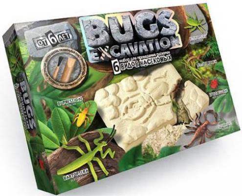 Набор для раскопок ДАНКО-ТОЙС Bugs Excavation. Насекомые (богомол, скорпион, жуки) BEX-01-04 322809
