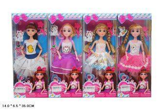 """Кукла Shantou Gepai """"Анастасия"""" 29 см шарнирная в ассортименте"""