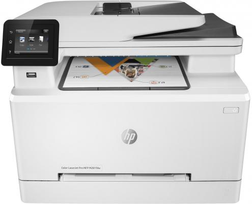 МФУ HP Color LaserJet Pro MFP M281fdn T6B81A цветное A4 21ppm 600x600dpi Ethernet USB new paper delivery tray assembly output paper tray rm1 6903 000 for hp laserjet hp 1102 1106 p1102 p1102w p1102s printer