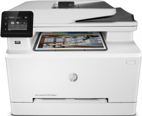 МФУ HP Color LaserJet Pro MFP M280nw T6B80A цветное A4 21ppm 600x600dpi Ethernet Wi-Fi USB мфу hp color laserjet pro m280nw