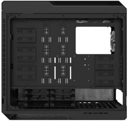 Корпус ATX Zalman X7 Без БП чёрный