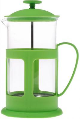 Френч-пресс Teco TC-P1060-G зелёный 0.6 л стекло teco tс p1060 r