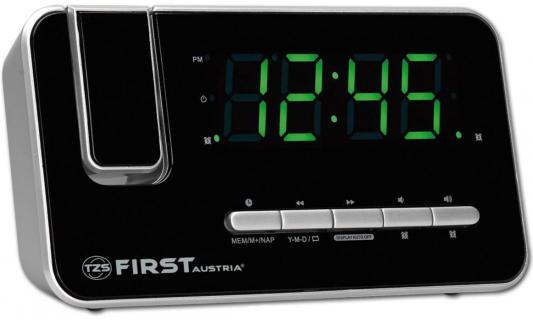 Часы с радиоприёмником First FA-2421-7 серебристый