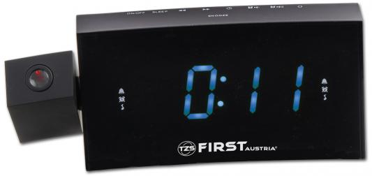 Часы с радиоприёмником First FA-2421-8 чёрный часы радио first fa 2421 5 black
