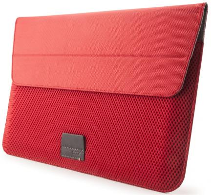 Чехол для ноутбука MacBook Air 11 Cozistyle Stand Sleeve полиэстер красный CASS1111 сумка cozistyle чехол для macbook air 15 stand sleeve