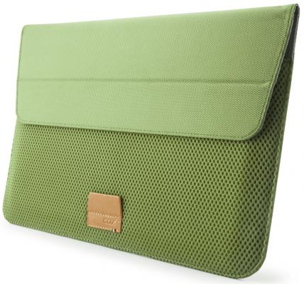 Чехол для ноутбука MacBook Air 11 Cozistyle Stand Sleeve полиэстер зеленый CASS1105 сумка cozistyle чехол для macbook air 15 stand sleeve